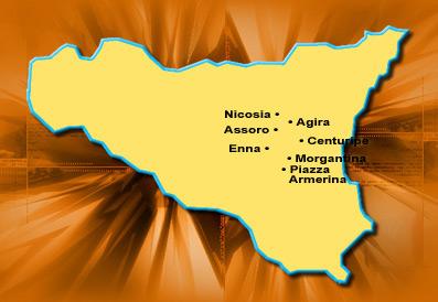 Itinerario archeologico viaggi a Enna e provincia