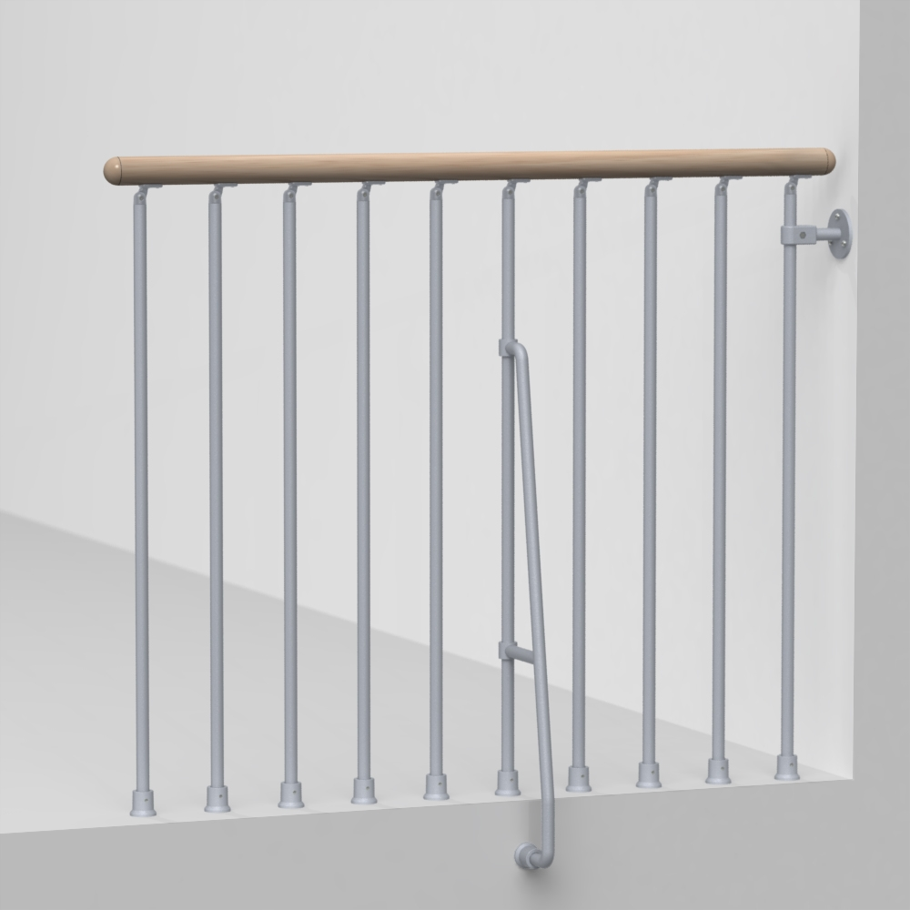Balcony Rail Kit Metal Steel And Wood Spiral Staircase Fontanot   Outdoor Spiral Staircase Lowes   Kits Lowes   Curved Staircase   Lowes Com   Dolle Calgary   Handrail