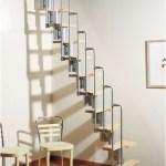 Karina Modular Staircase Kit Metal Steel And Wood Spiral Staircase Fontanot