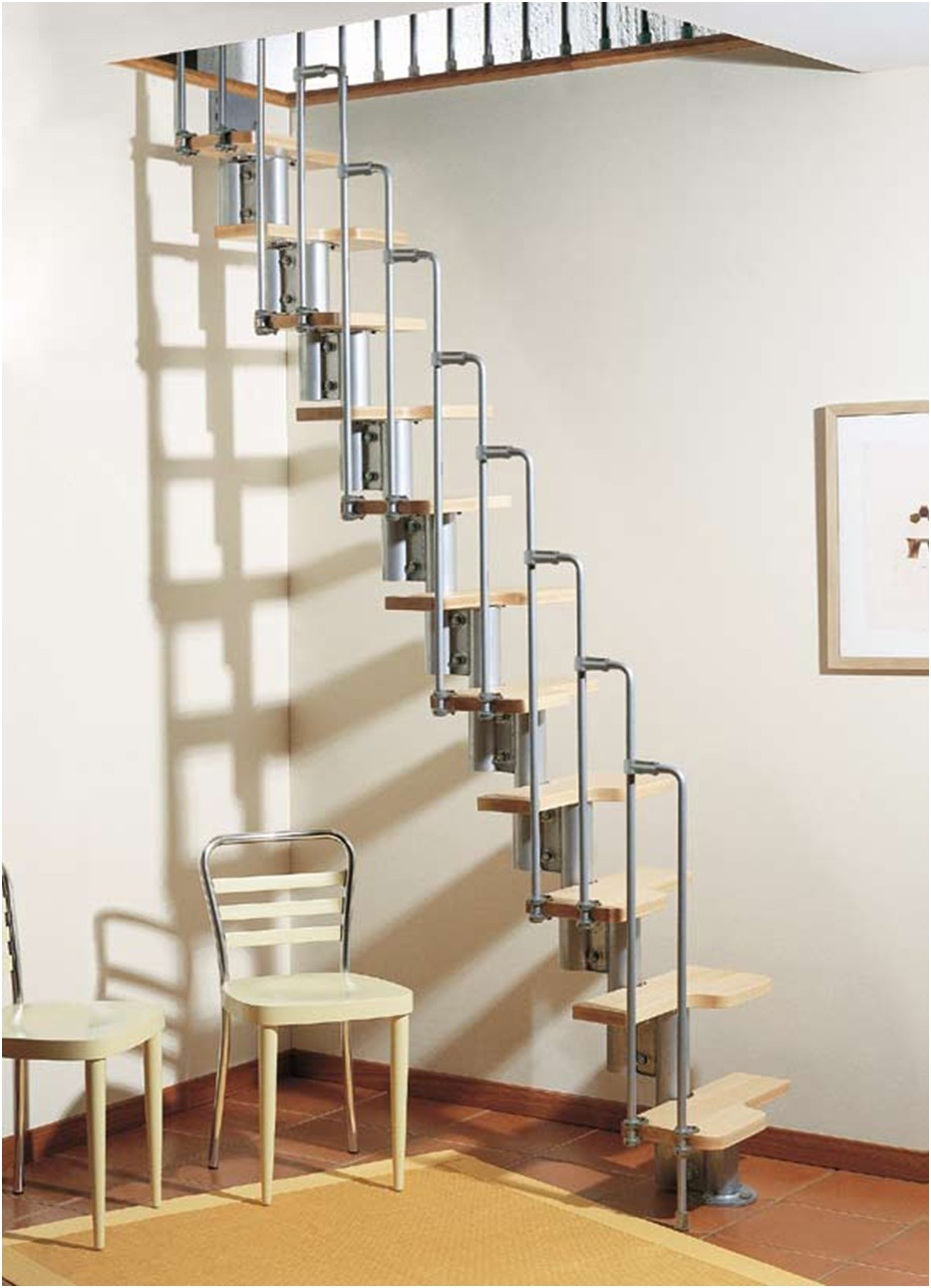 Karina Modular Staircase Kit Metal Steel And Wood Spiral | Metal Spiral Staircase Cost | Stair Case | Stair Treads | Iron | Stainless Steel | Deck