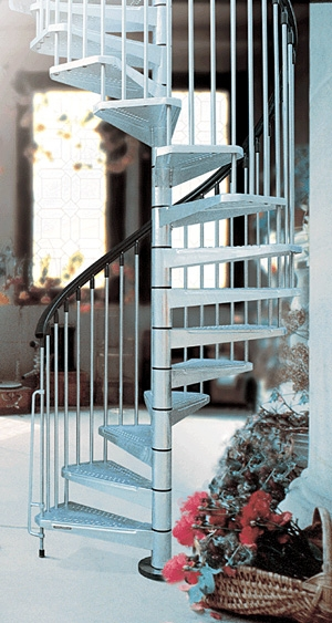 Metal Outdoor Spiral Staircase Exterior Stairs   Painting Metal Spiral Staircase   Stair Case   Staircase Kit   Stair Railing   Powder Coating   Spray Paint