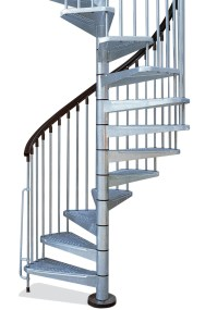 Metal Outdoor Spiral Staircase