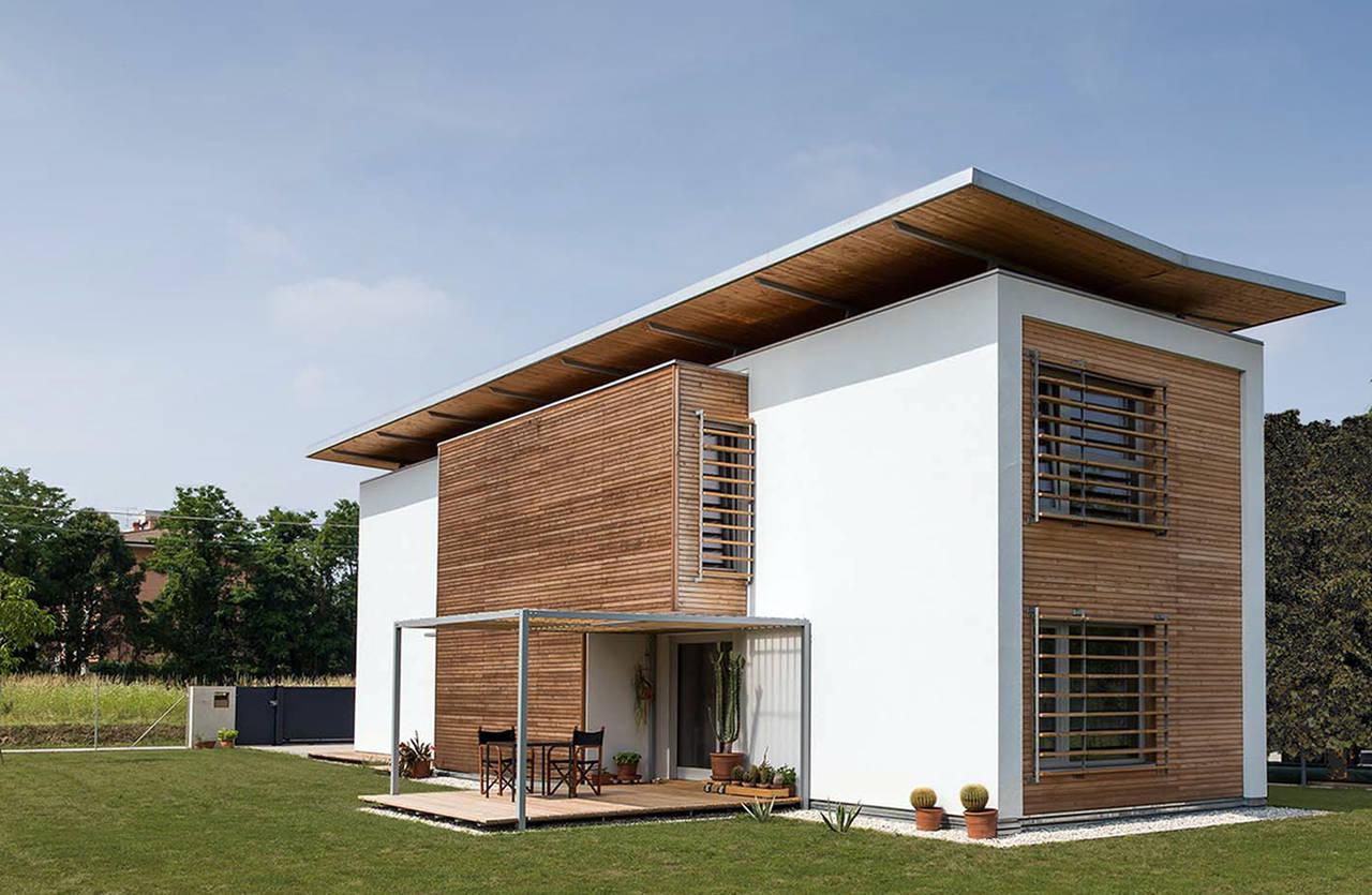 Rubner Haus per Casa Feruglio a Udine  Arketipo