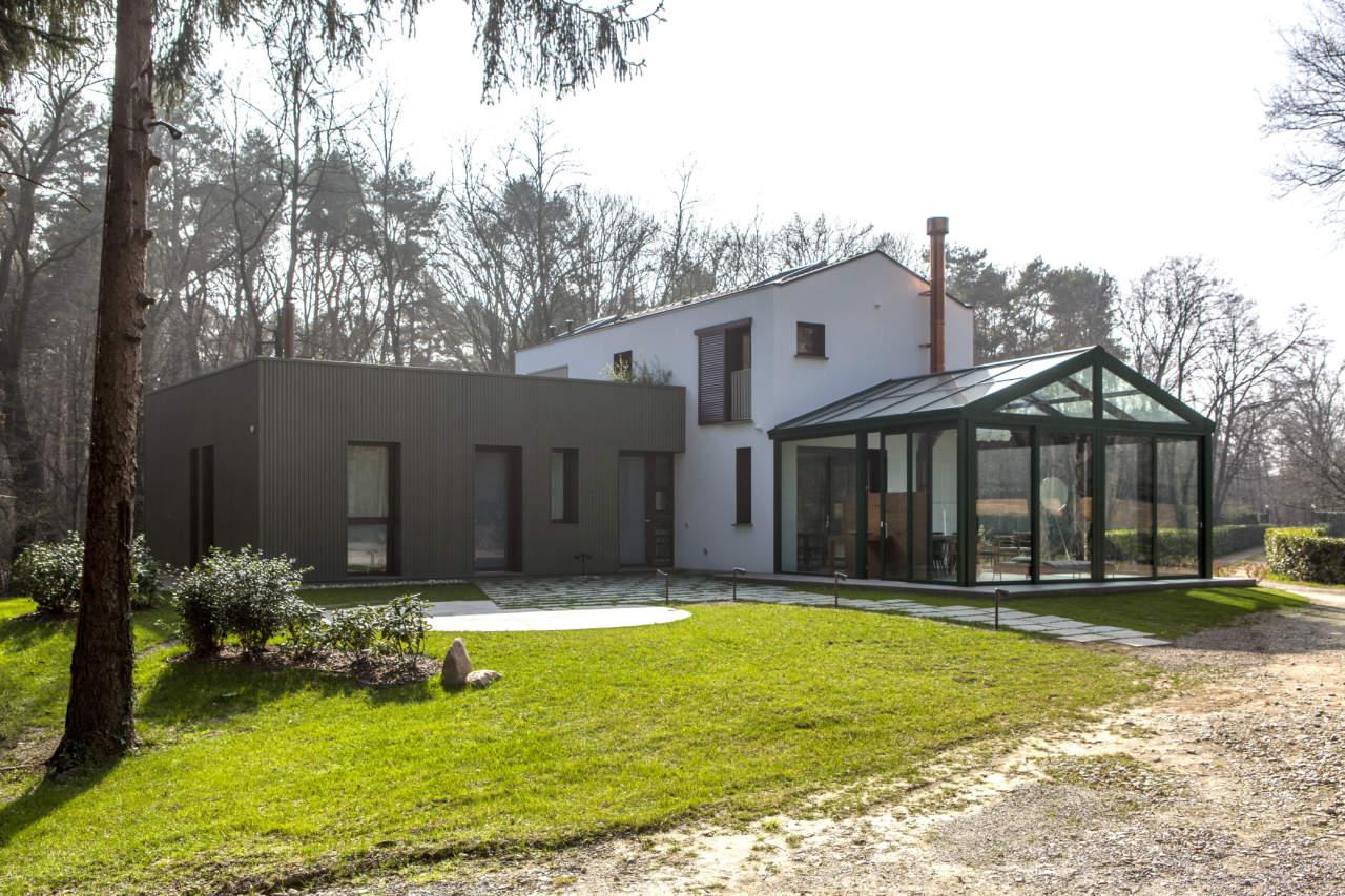 La Casa nel Bosco a Brenna Co  Riccardo Cassina e Corrado Spinelli