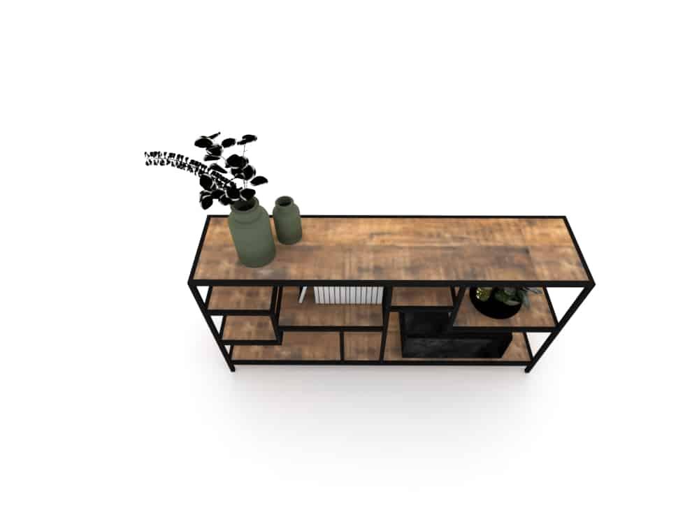 mueble para comedor render