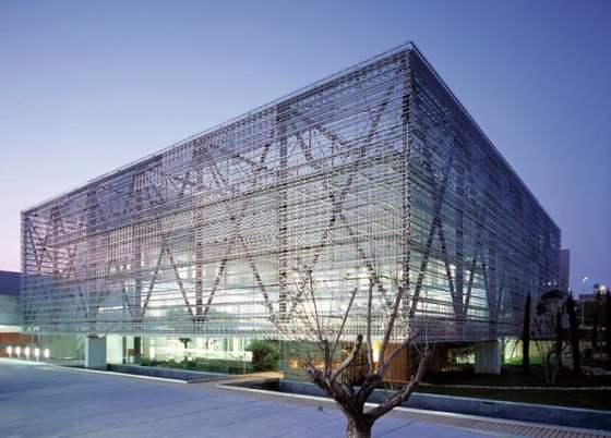 Edificio de oficinas en el Parque Tecnológico de Paterna. Valencia. España