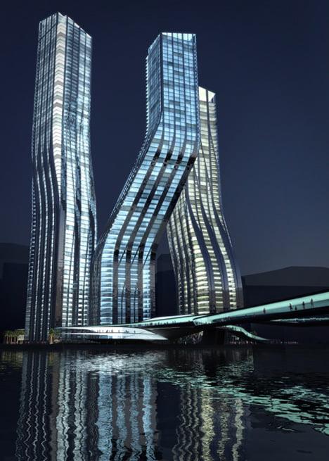 Las torres bailarinas de Dubai