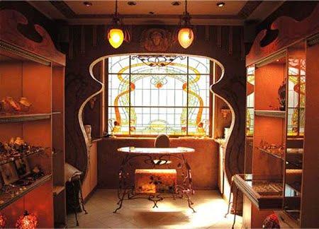 decoracion art nouveau