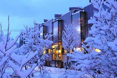 El aislamiento térmico es clave en este tipo de arquitectura.