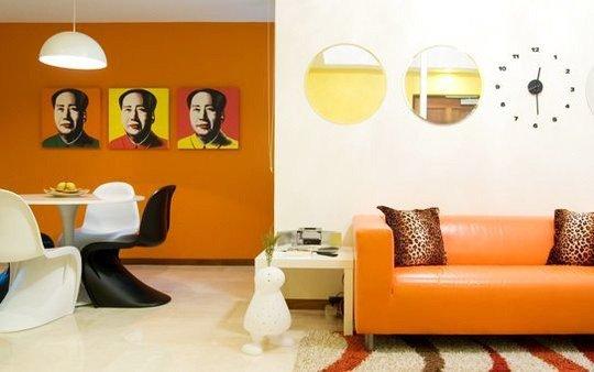diseo interior pop art
