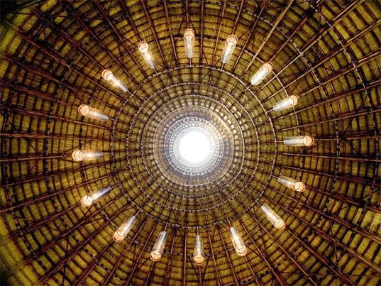domo en bambu