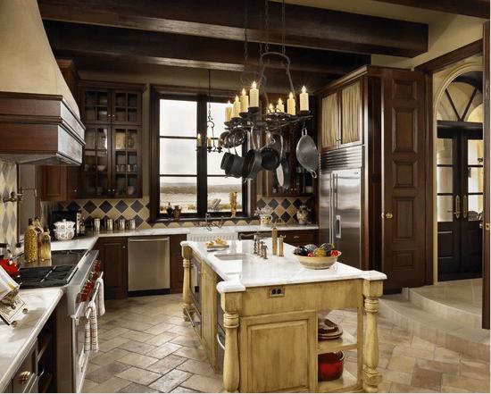 20 diseños de cocina estilo mediterráneo - Arkiplus.com