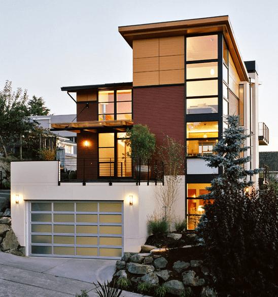 Fachadas de casas modernas for Fachadas de casas nuevas modernas