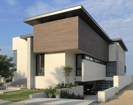 Fachadas de casas modernas for Casa moderna 5