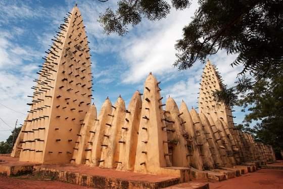 gran mezquita Bobo Dioulasso