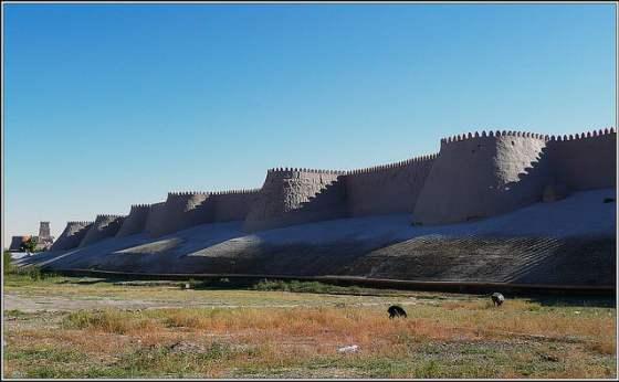 muro de khiva