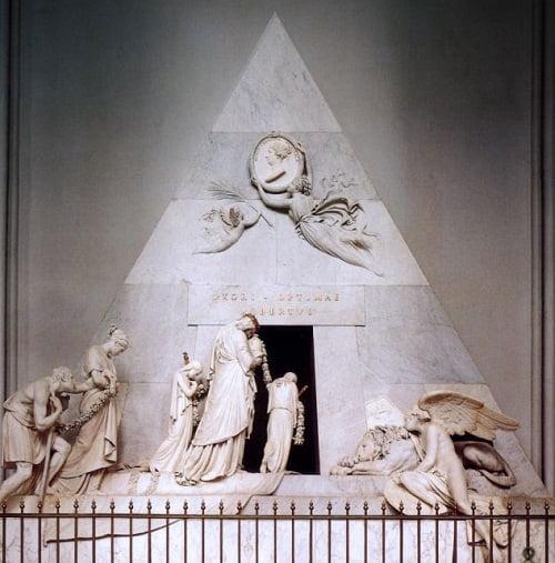 Mausoleo de Maria Cristina de Austria en Viena