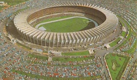 Estadio Mineirao antes de las remodelaciones para el Mundial 2014.
