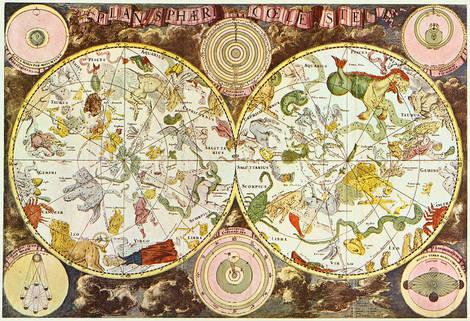 mapa celestial