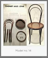 Silla N°14 de Thonet