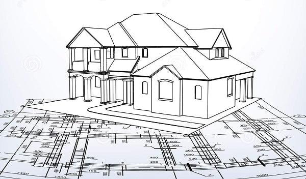 Fachadas de casas dibujo t cnico arkiplus - Fotos de casas para dibujar ...