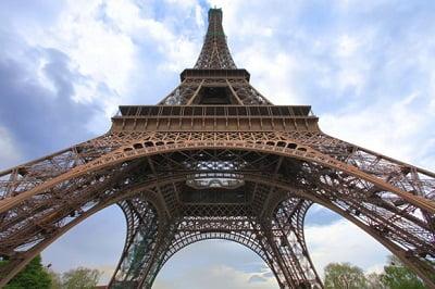 Torre Eiffel diseñada por Gustave Eiffel.