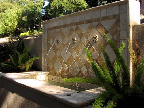 Ideas para usar fuentes en patios o jardines - Fuentes para patios ...