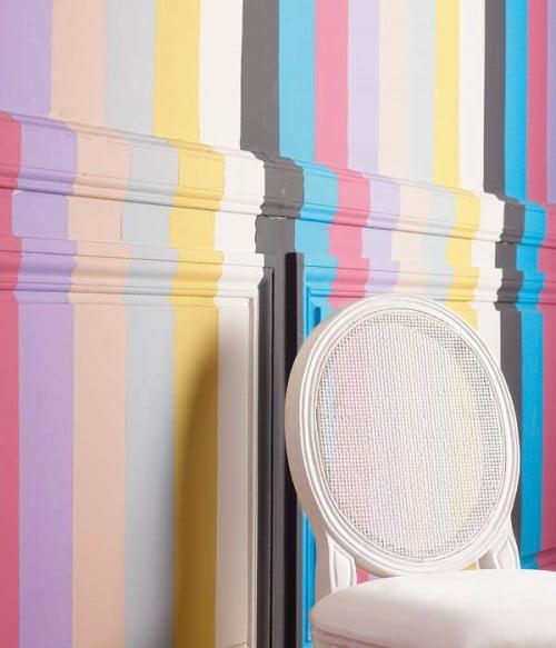 10 ideas para decorar paredes con molduras - Molduras para paredes interiores ...