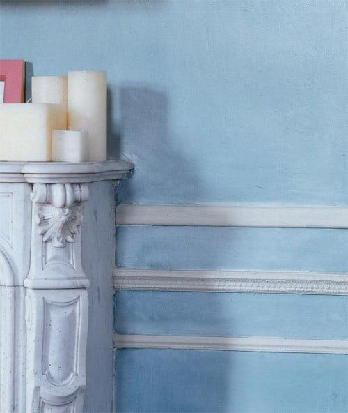 10 ideas para decorar paredes con molduras for Decorar puertas con molduras