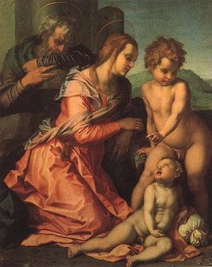 santa-familia-Andrea del Sarto