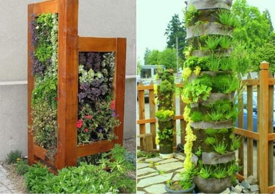 Dise o de jardines verticales arkiplus for Historia de los jardines verticales