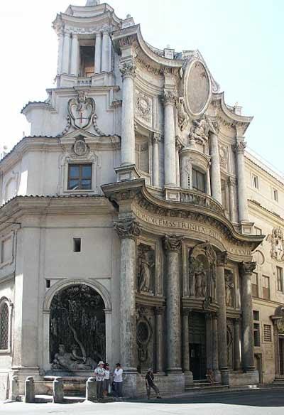 San Carlo alle Quattro Fontane.