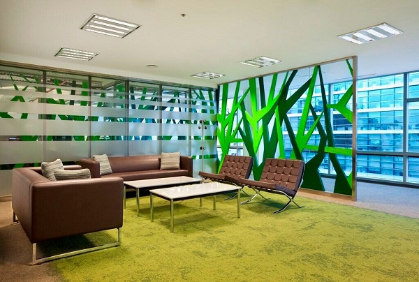 Dise o de interiores de oficinas modernas for Interior de oficina