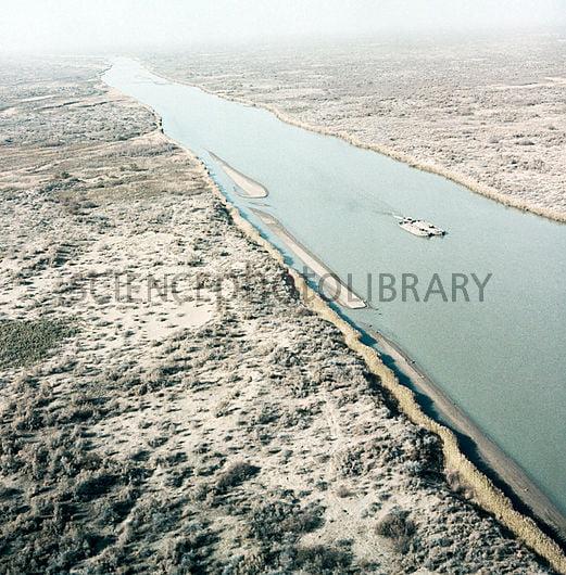 Karakum Canal, 1984