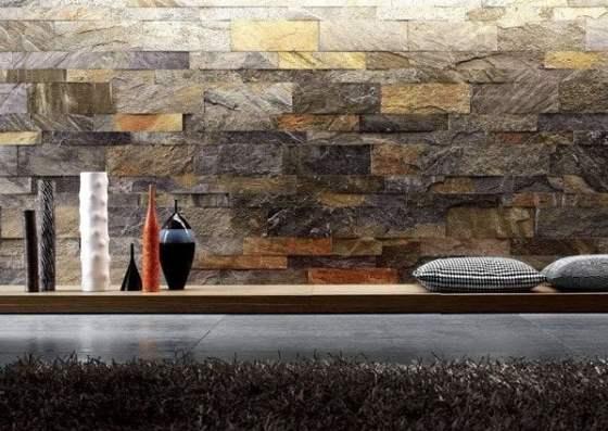 Paredes interiores de piedra arkiplus - Paredes de piedra artificial ...