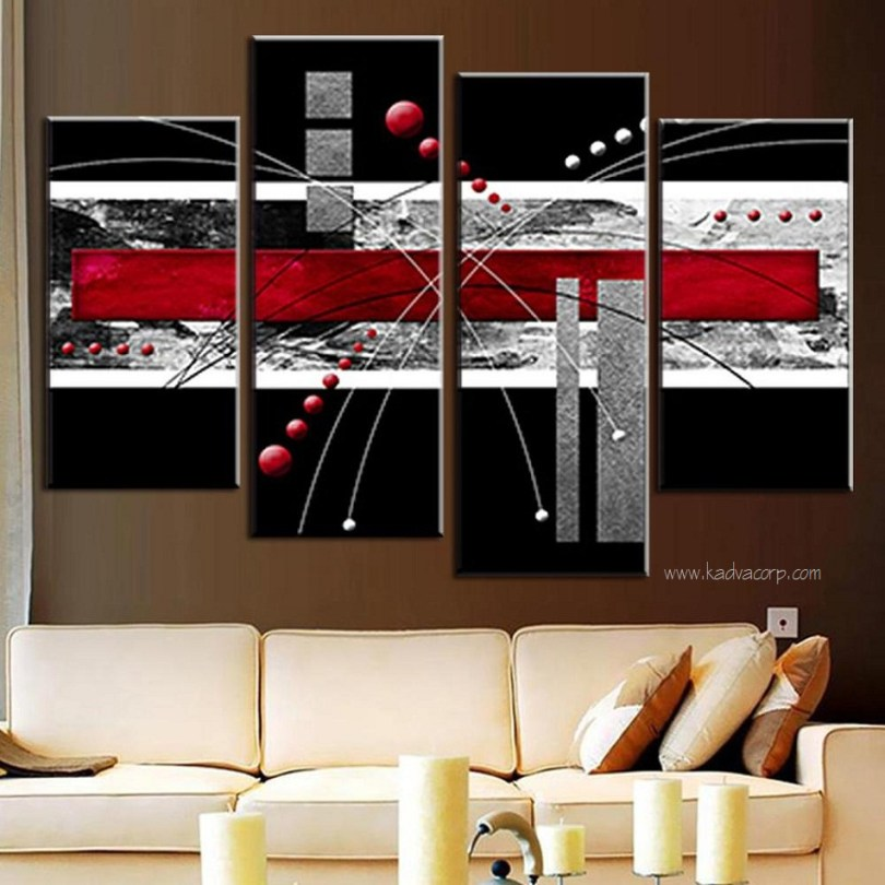 dark shade wall art in canvas,