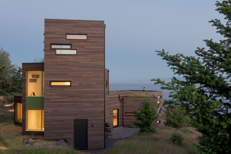 Modern Architecture of the Bailer Hill House by Prentiss+Balance+Wickline 5