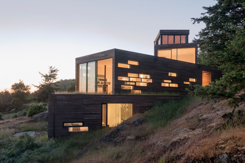 Modern Architecture of the Bailer Hill House by Prentiss+Balance+Wickline 1