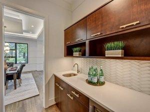 countertops and backsplash combinations, behind the stove decor,