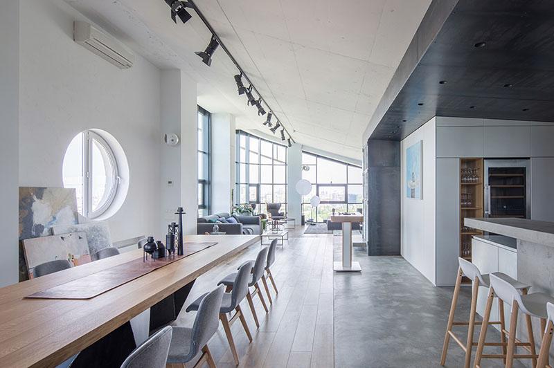 industrial interior design concept, industrial interior design definition,