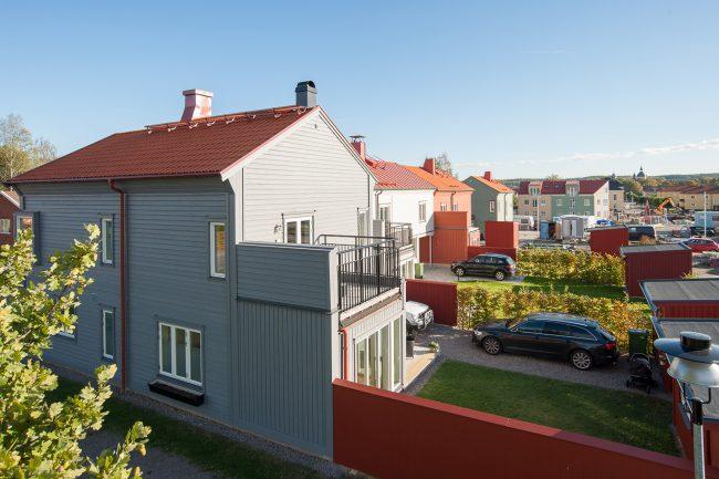 Trädängen, Mariefred, stadsvillor och parhus (2016-)