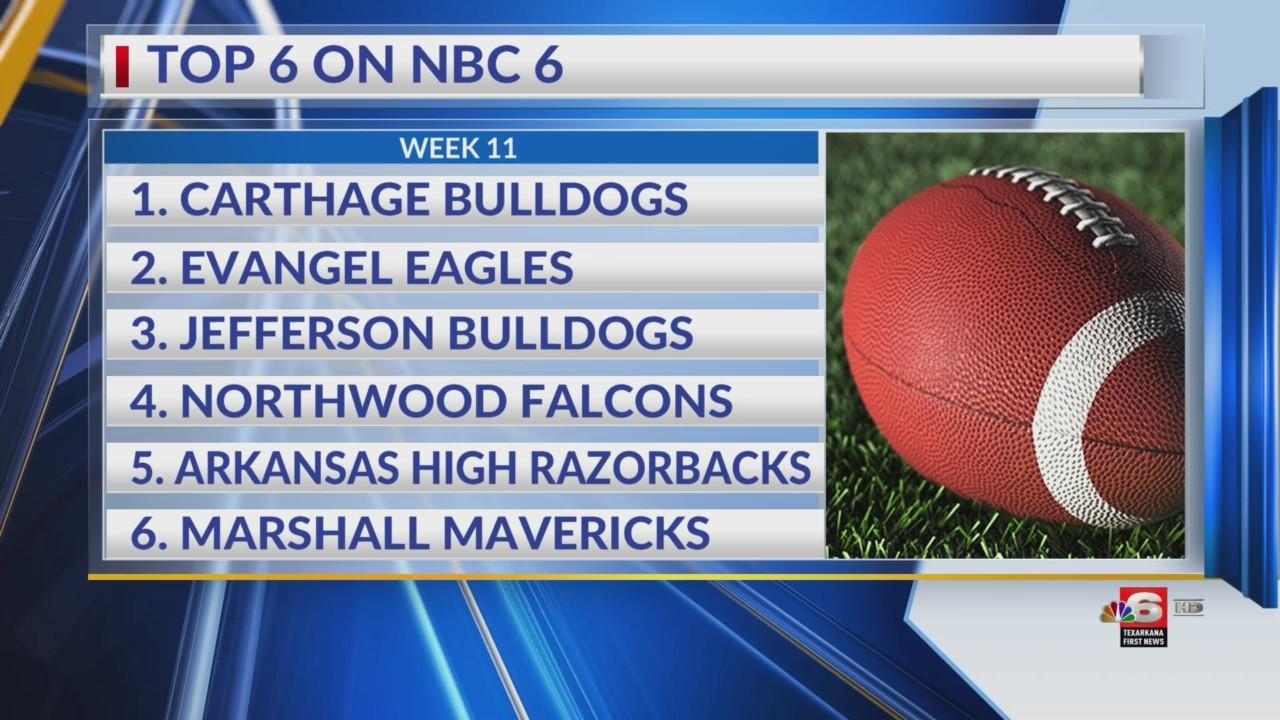 Top 6 on NBC 6 Week 11
