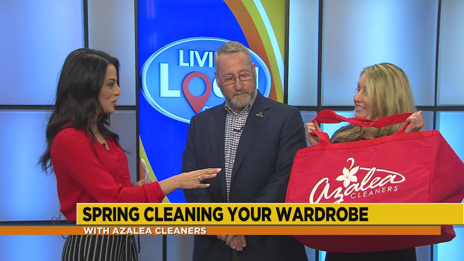 Wardrobe spring cleaning with Azalea Cleaners
