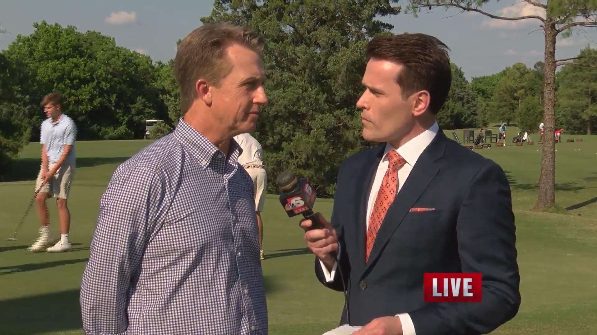David Toms talks AJGA upcoming tournament on KTAL NBC 6