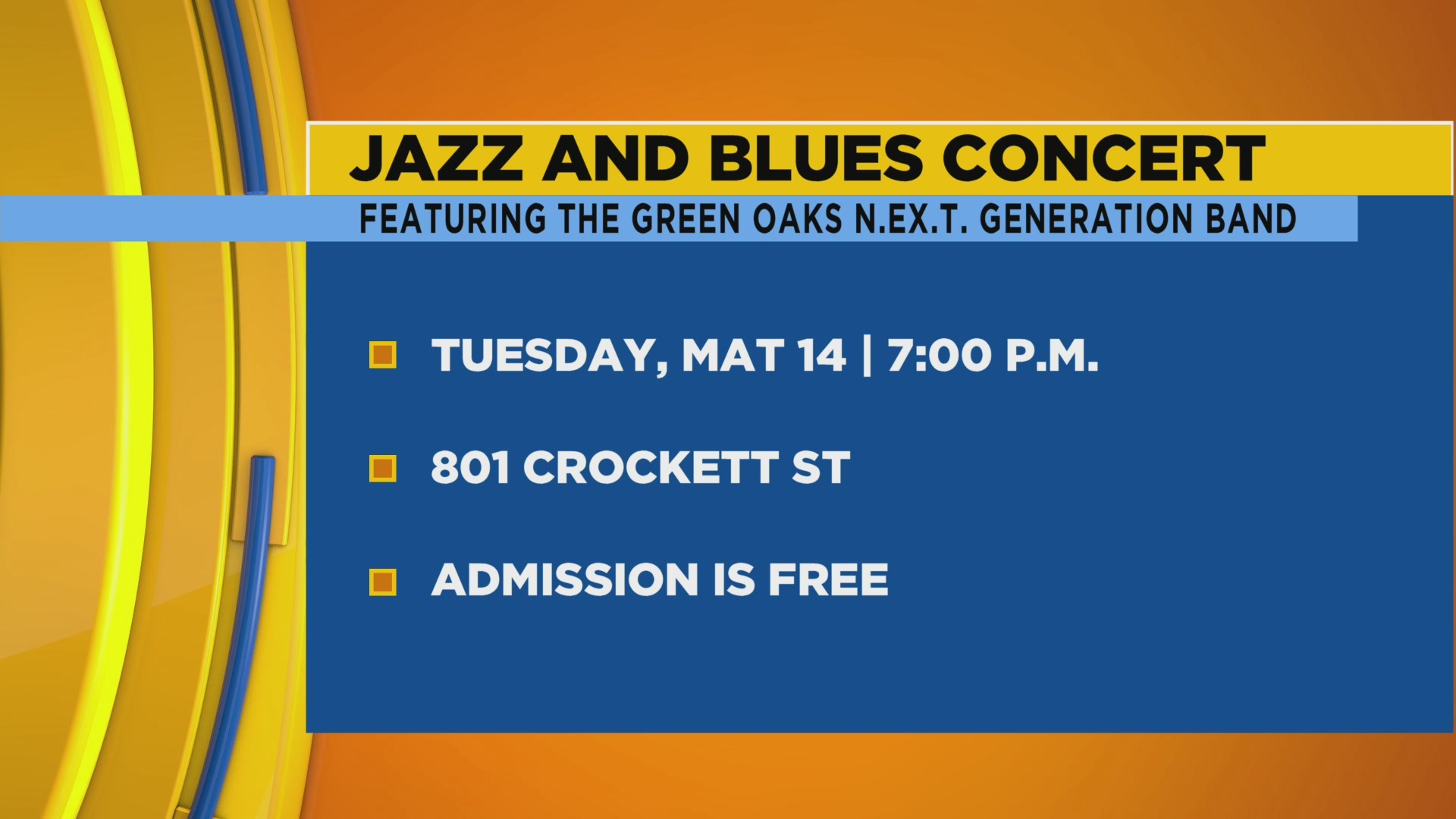 Jazz and Blues Concert ft.N.E.X.T. Generation Band