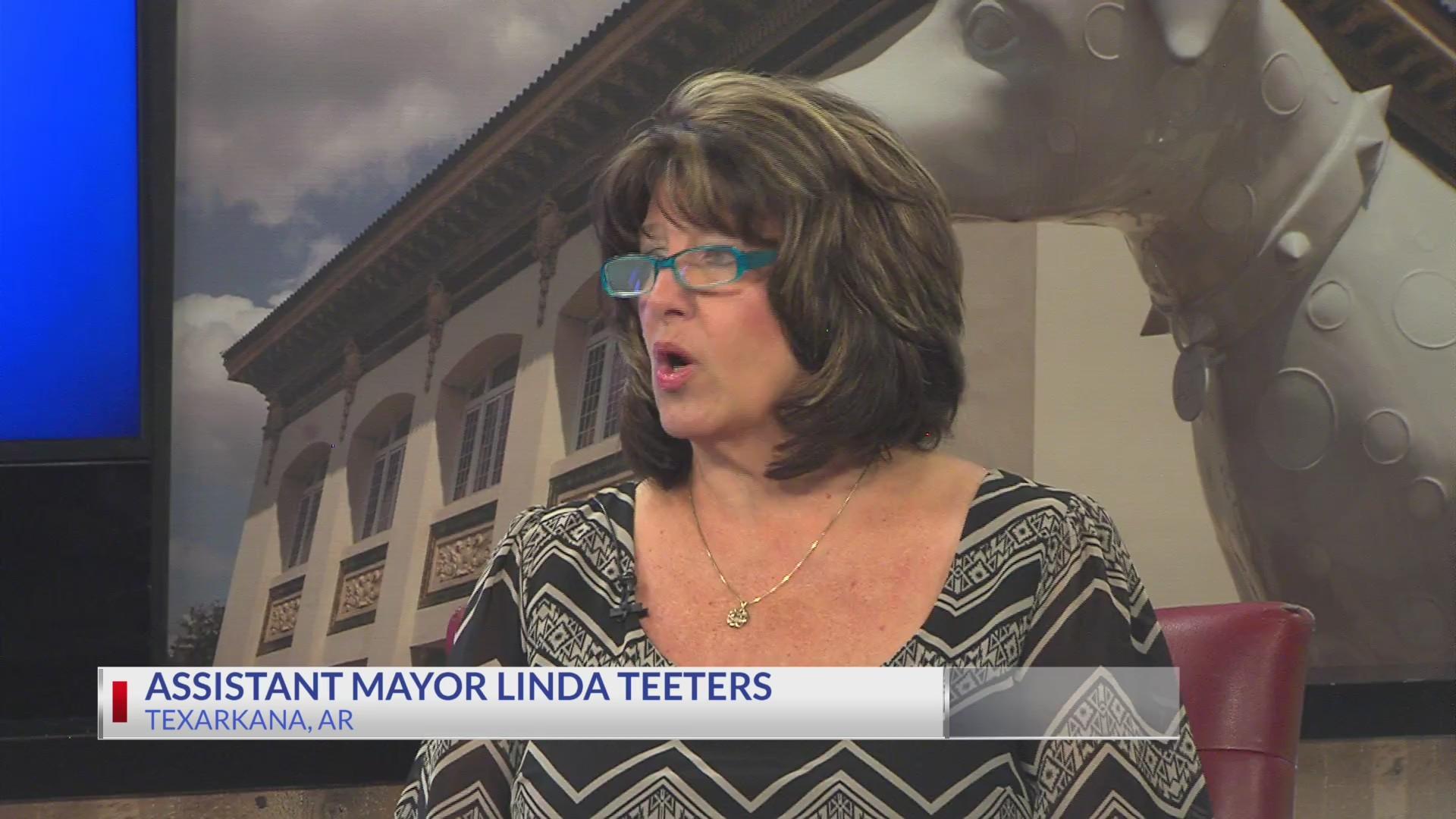 Coffee with the Mayor: Texarkana, Ar Assistant Mayor Linda Teeters