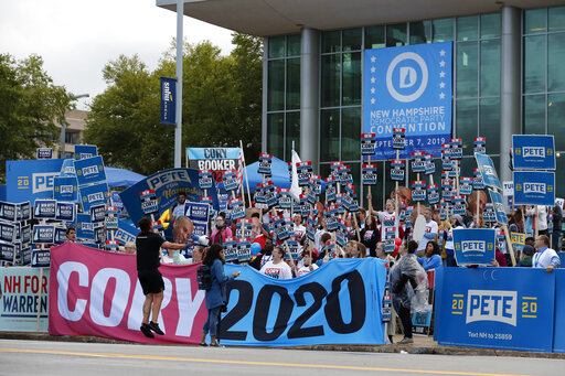 Dems try to make 2020 case to New Hampshire power brokers