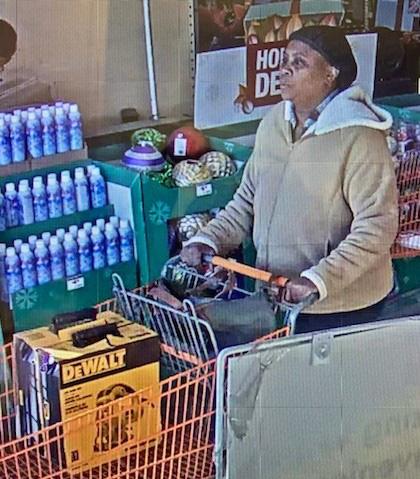 Shreveport Police Seek Identity Of Home Depot Theft Suspect