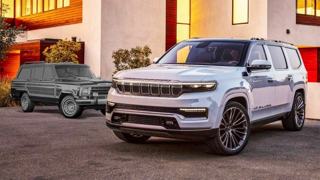 2022 Jeep Grand Wagoneer and original