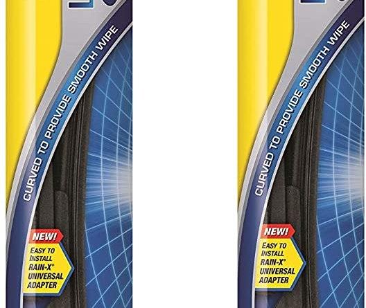 "Rain-X Latitude Water Repellency Wiper Blade, 18"" - 2 Pack"